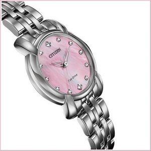 Buy her this Citizen Ladies Eco-Drive Diamond Dial DC Watch for this anniversary gift