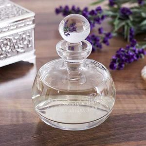 Buy her Personalised Lead Crystal Perfume Bottle And Stopper