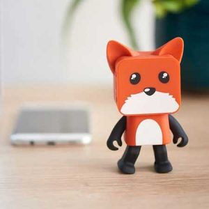 Buy her this dancing fox speaker for her 9th anniversary gift