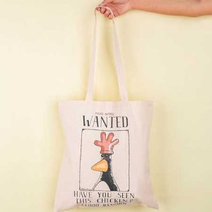 Buy her this Wallace And Gromit Feathers McGraw Wanted Poster Tote Bag