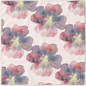 Buy her this Floral silk scarf for this anniversary gift