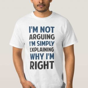 Buy him this funny t-shirt