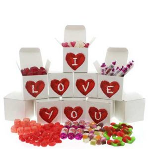 Buy her the I Love You sweet collection for this anniversary gift