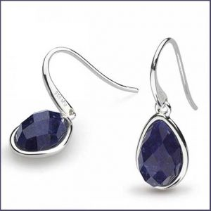 Buy her these Kit Heath Coast Pebble Lapis Lazuli Drop Earrings for this anniversary gift