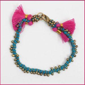 Buy her the Maya Bead Bracelet for her anniversary gift.