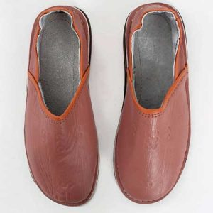 Buy him these Moroccan Leather Berber Babouche Slippers, in different colours