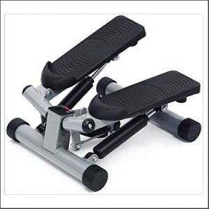 Buy him this mini stepper for fitness