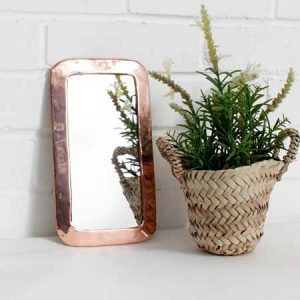 Buy them this Moroccan Rounded Rectangle Mirror in a Rose Gold tone