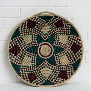 Buy them this stylish Moroccan woven plate for their anniversary gift