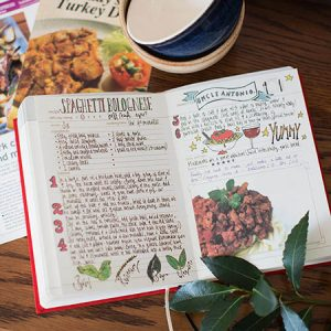 Start a family tradition with my family cookbook gift