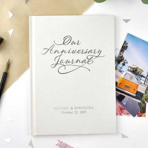 Buy her Our anniversary journal