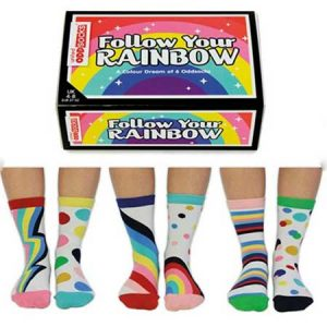 Buy her a set of Rainbow socks