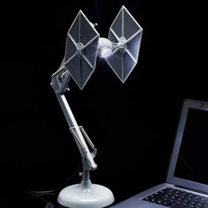 Buy him the Star Wars TIE Fighter Poseable Desk Lamp