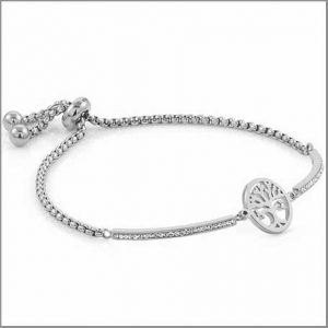 Buy this steel tree of life bracelet for this anniversary gift