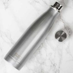 Buy him this silver water bottle gift