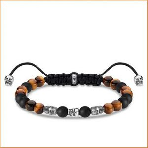 Buy him the Thomas Sabo Sterling Silver Multicoloured Lucky Bracelet
