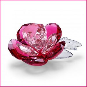 Buy her this Swarovski Crystal Flowers Light Multi Coloured Peony anniversary gift