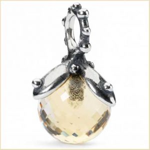 Buy her the Trollbeads Citrine Facet Tassel TAGBE for this anniversary gift