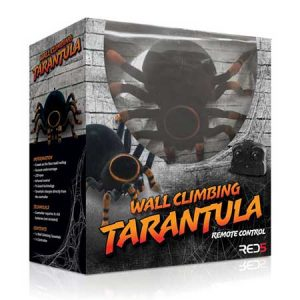 Buy him the wall climbing remote control tarantula.