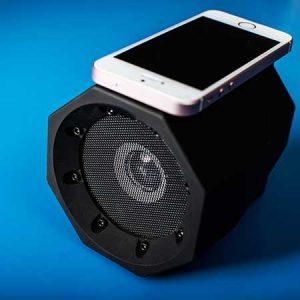 Buy him this wireless boombox speaker for his anniversary gift.