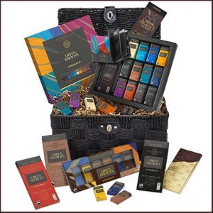 Buy him this G & B´s chocolate lovers hamper for his anniversary gift