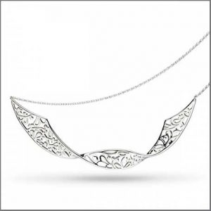 Buy her this Kit Heath Blossom Flourish Double Twist 18 Necklace