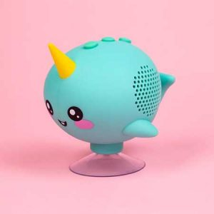Buy her this Narwhal Shower Speaker for the 20th anniversary gift