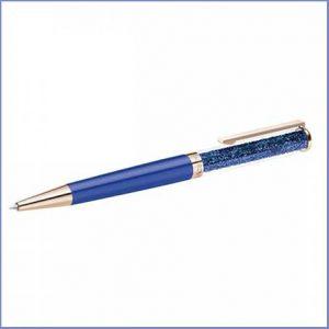 Buy her this Swarovski Crystalline Rose Blue Pen for her anniversary gift