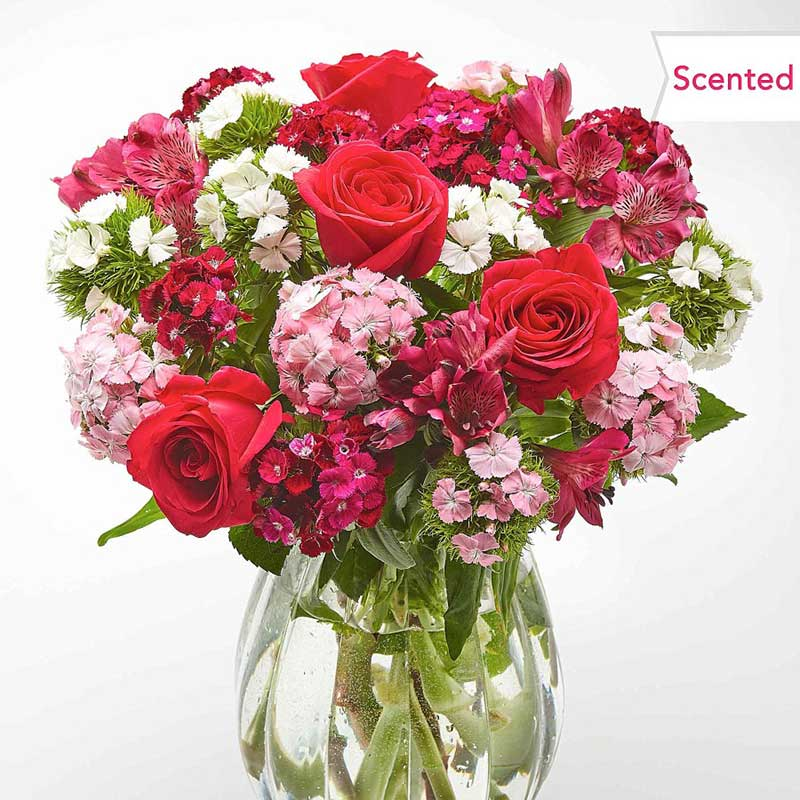 Buy her or them this beautiful sweet summertime bouquet for this anniversary gift.