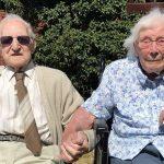 Mr & Mrs Kingston Celebrating their 80th wedding anniversary