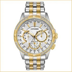 Buy him this Citizen Gents Eco-Drive 32 Diamonds DC Watch for his 30th wedding anniversary gift