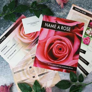 Buy her Name a Rose gift for this 30th anniversary
