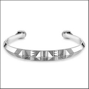 Buy him the Thomas Sabo Desert Sky Ethnic Skull Bangle for this anniversary gift