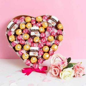 Buy them The Pink ChocoLover Hamper for this anniversary gift