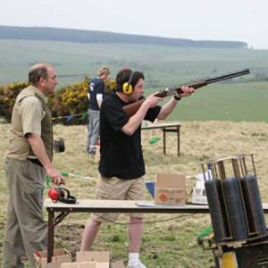 Treat him to a clay pigeon shooting experience for two as this anniversary gift