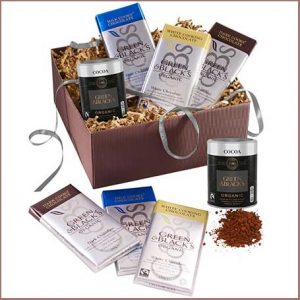 Treat her to the G&B's Chocolate Baking Kit for this anniversary gift