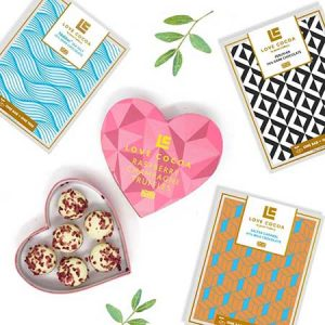 Great selection of vegan and organic chocolates make a perfect gift for any occasion and ime of year