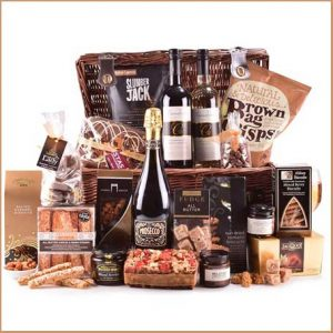 Buy them this The Monumental Moments Hamper for their anniversary gift.