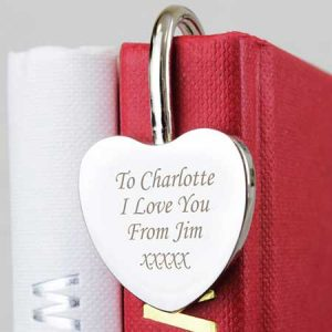 Buy her this personalised heart shaped bookmark for this anniversary gift