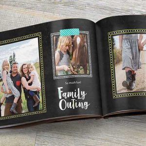 Buy them this photo book full of family photos for their anniversary gift