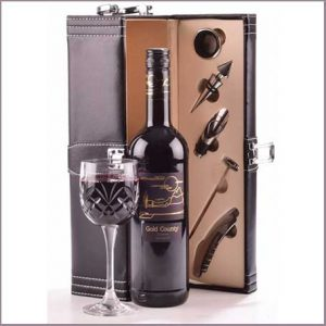 Buy him the Red Wine Connoisseurs Gift Case for his 41st anniversary gift