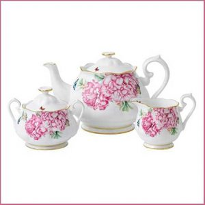Buy her the Royal Albert Miranda Kerr Friendship 3 Piece Set for this anniversary gift
