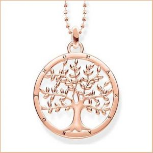 Buy her the Thomas Sabo Tree of Love Rose Gold Necklace for the 39th anniversary gift
