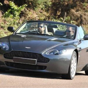 Buy him the triple Aston Martin driving experience for his anniversary gift