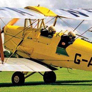 Treat him to a vintage flying day for his 40th wedding anniversary gift.