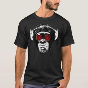 Buy him this vintage funny monket t-shirt for the 40th anniversary gift