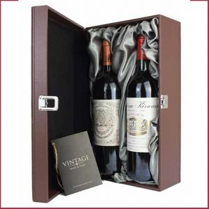 Buy him a vintage red wine for this anniversary gift, we have a great selection from all regions here