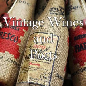 Buy him a bottle of vintage wine or port from around the world for this anniversary gift