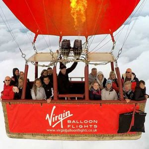 Buy them a Virgin Balloon flight for this anniversary gift
