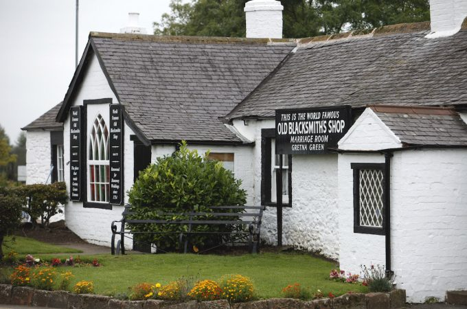 Famous Blacksmiths Shop in Gretna Green